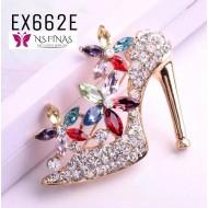Gorgeous Crystal High Heel