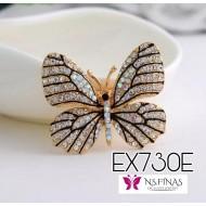 Butterfly Gold+black