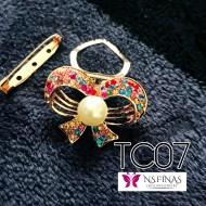 Colourfull ring ribbon