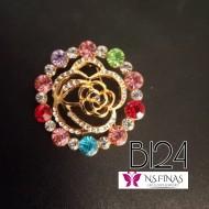 B124 (BUNGA ROSE COLOURFUL)