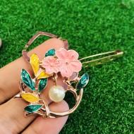 CLIP PINK FLOWER