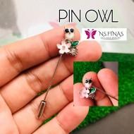PIN SHAWL OWL