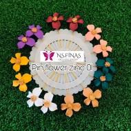 PIN FLOWER ZINC (14PCS)