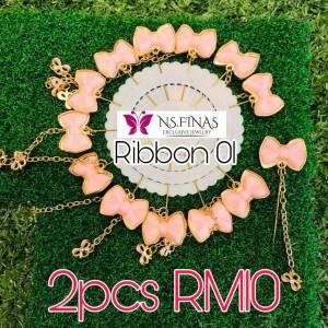 PIN RIBBON JURAI (2PCS)