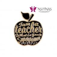 I  AM TEACHER (BLACK)
