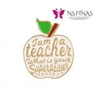I  AM TEACHER (WHITE)