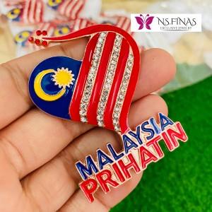 BROOCH MALAYSIA PRIHATIN