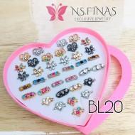 SET BOX LOVE 36PCS BL20