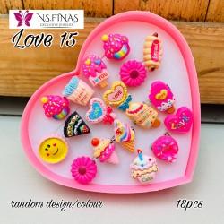 SET RISEN LOVE KOD LOVE 15 (18PCS)