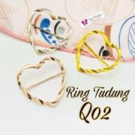 SCRAF RING/ RING TUDUNG KOD Q02