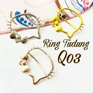 SCRAF RING/ RING TUDUNG Q03