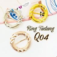 SCRAF RING/ RING TUDUNG Q04